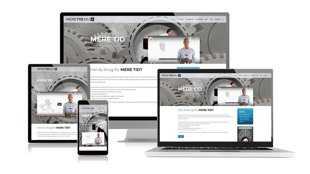 professionel hjemmeside ICR design