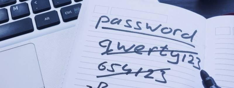 Stærk password undgå hacking