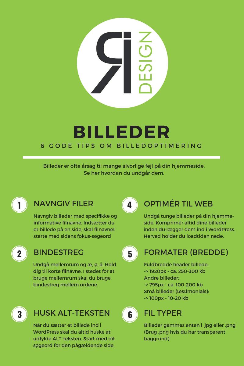 6 gode tips om billedredigering - ICR-Design